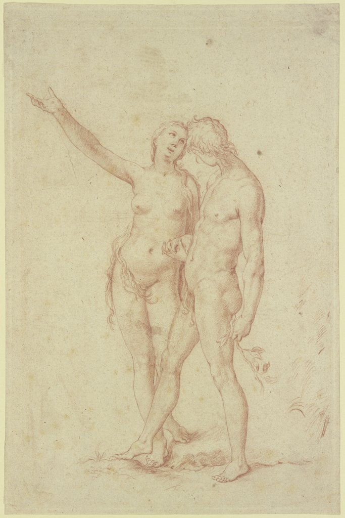 Adam and Eve, Abraham Bloemaert