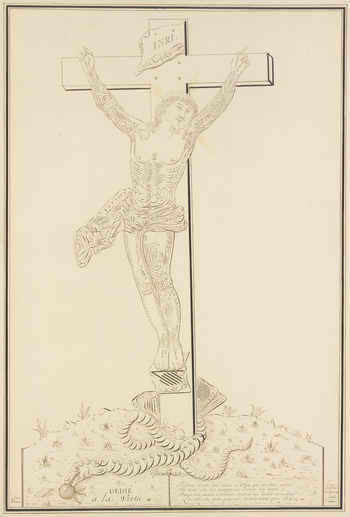 Christ on the cross, Pierre Jean Paul de Berny