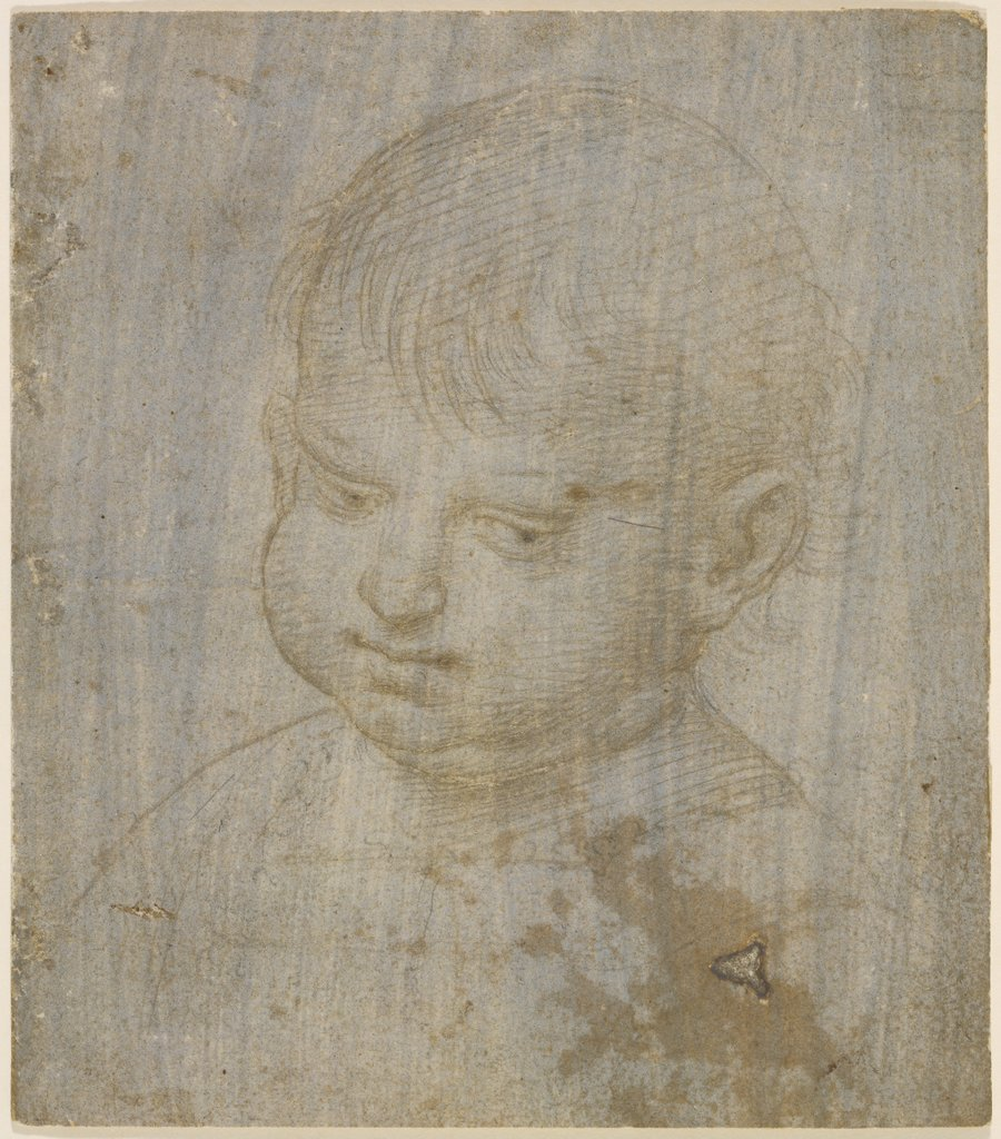 A child's head, Raphael
