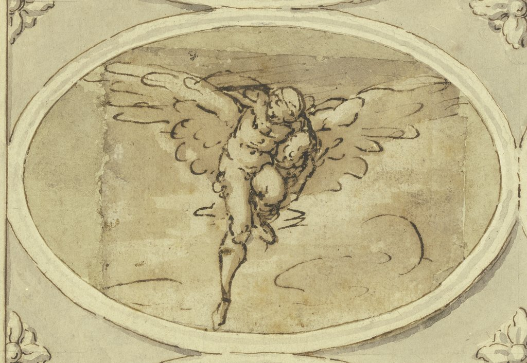The abduction of Ganymede, Cherubino Alberti   ?