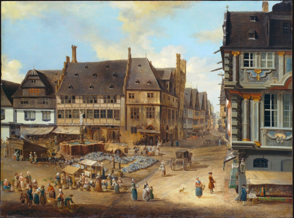 The Liebfrauenberg in Frankfurt, Christian Georg Schütz the Elder