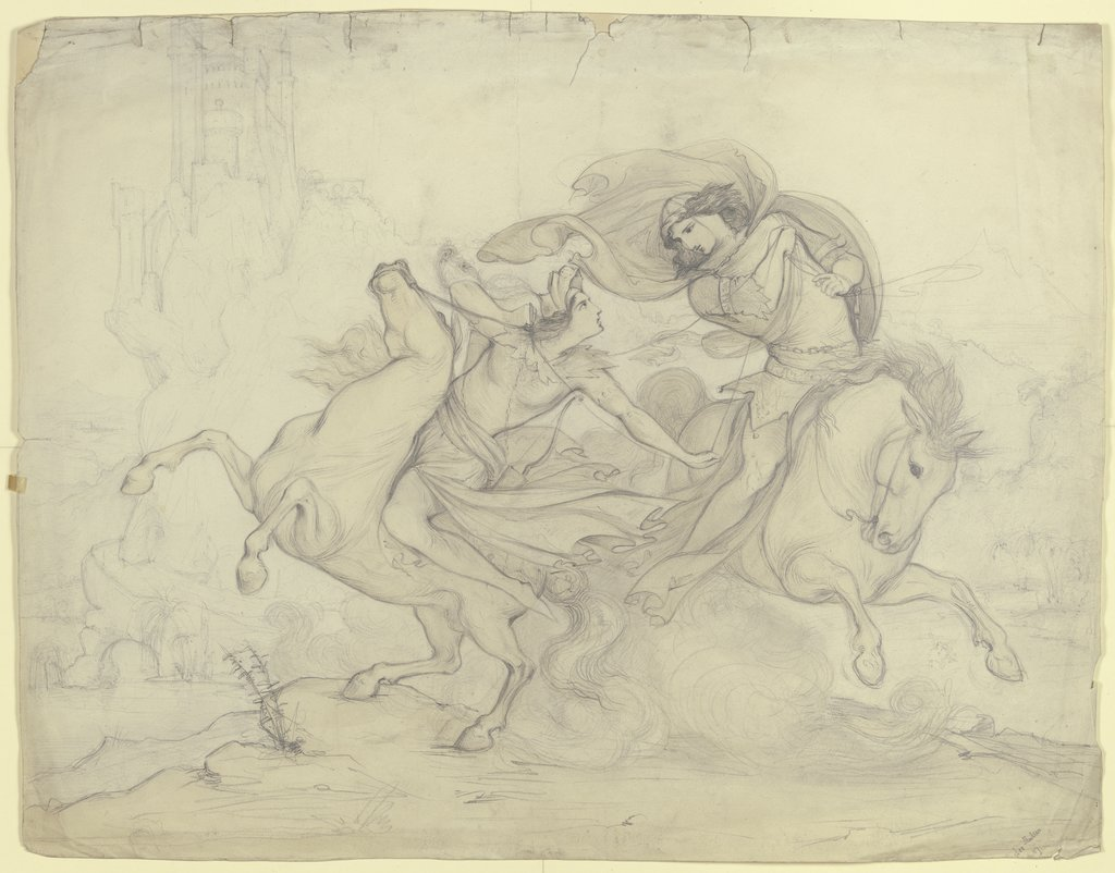 Abduction of a princess, Victor Müller