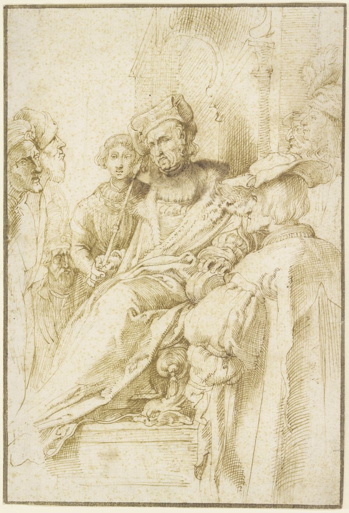 Pilate, Peter Paul Rubens, after Hendrick Goltzius