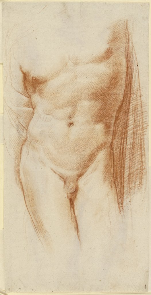 Nude of a boy, Annibale Carracci   ?