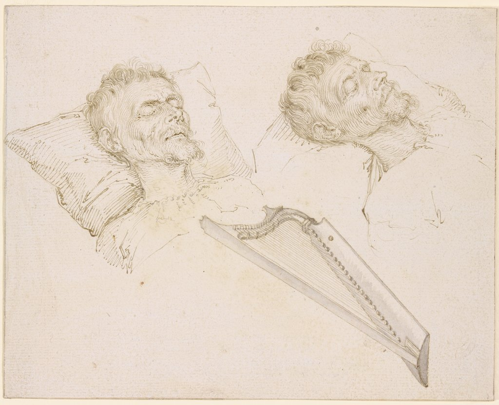 Karel van Mander on his Deathbed, Jacques de Gheyn II