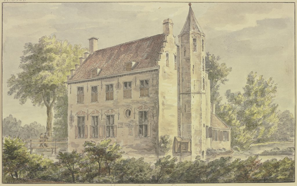 t'Huis te Altena by Delft, Abraham de Haen the Younger