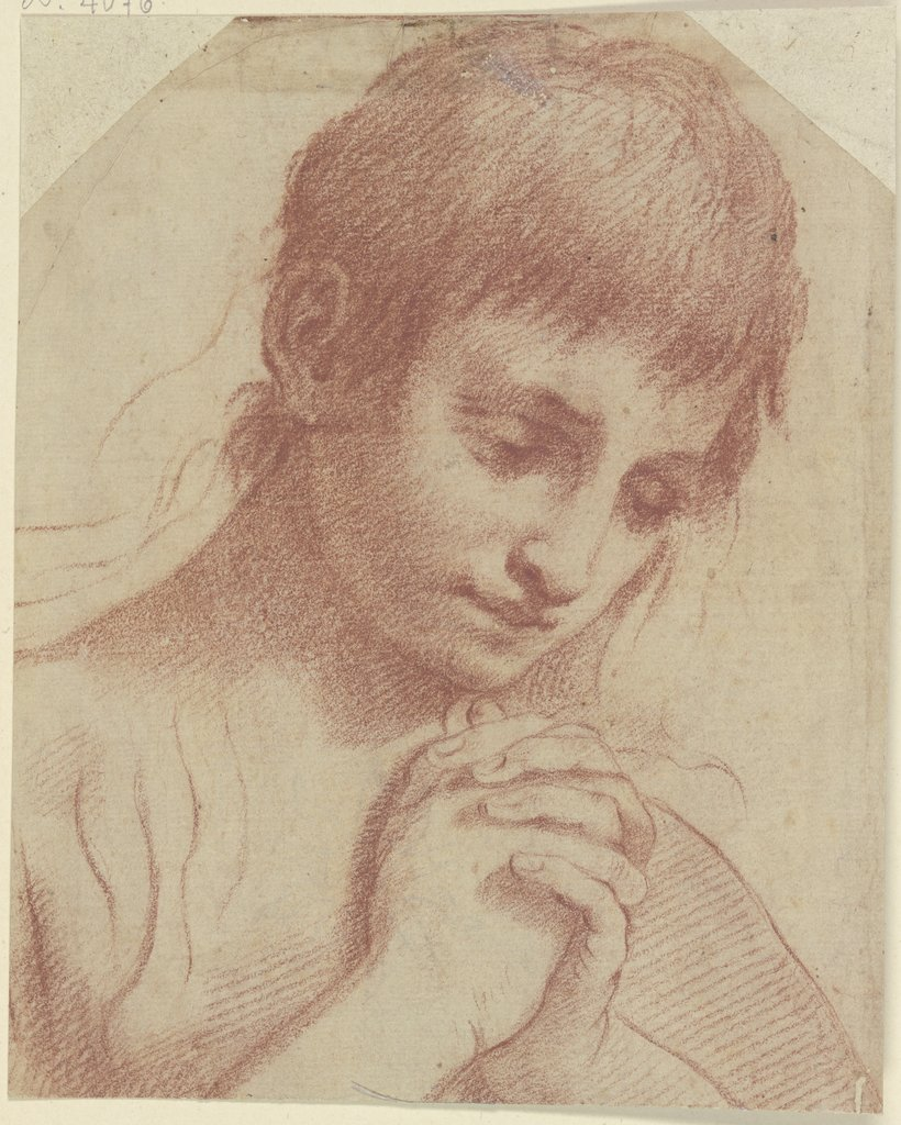 Praying youth, Ludovico Carracci