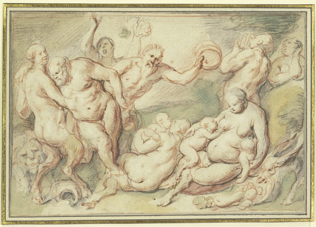 Bacchanal, Jacob Jordaens, Peter Paul Rubens