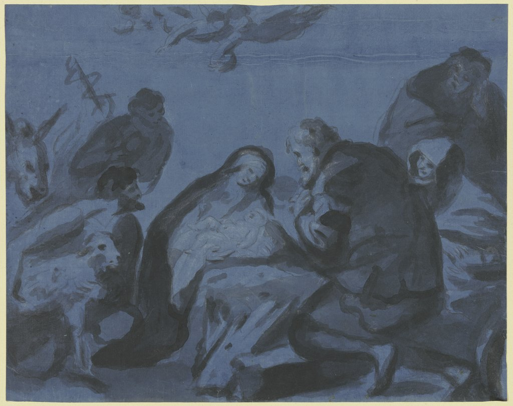 Adoration of the shepherds, Bartolomé Esteban Murillo