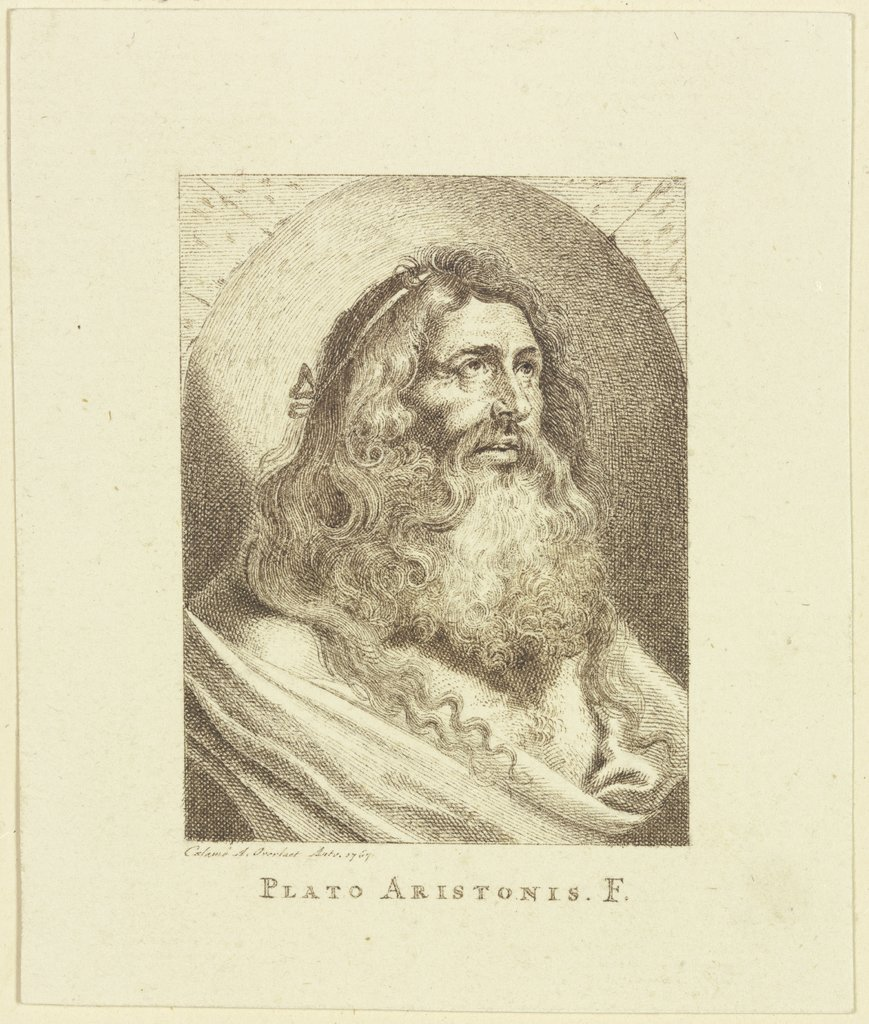 Plato Aristonis. F., Antoon Overlaet, after Lucas Vorsterman d. Ä., after Peter Paul Rubens