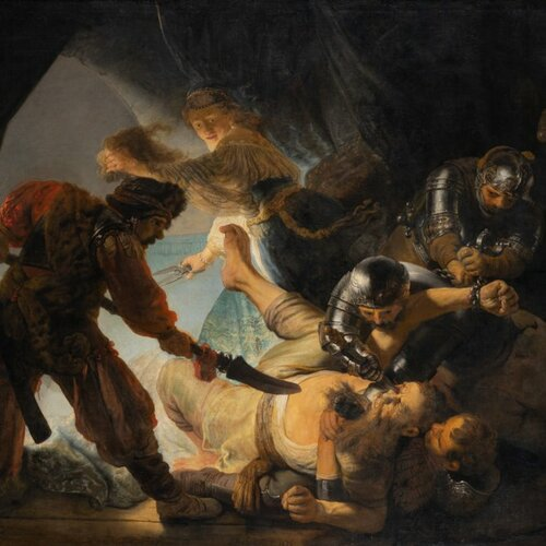 The Blinding of Samson, Rembrandt Harmensz. van Rijn
