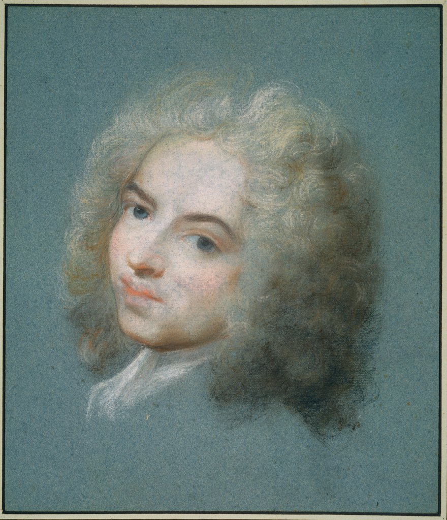 Portrait of Antoine Watteau, Rosalba Carriera