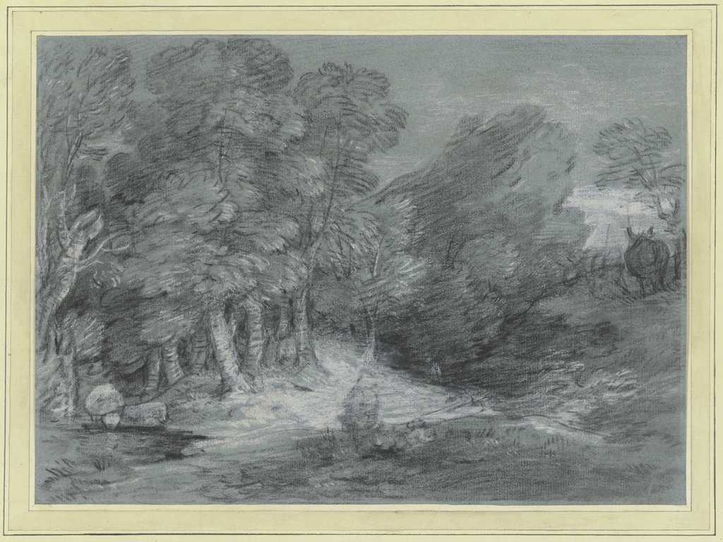Waldlandschaft, Thomas Gainsborough