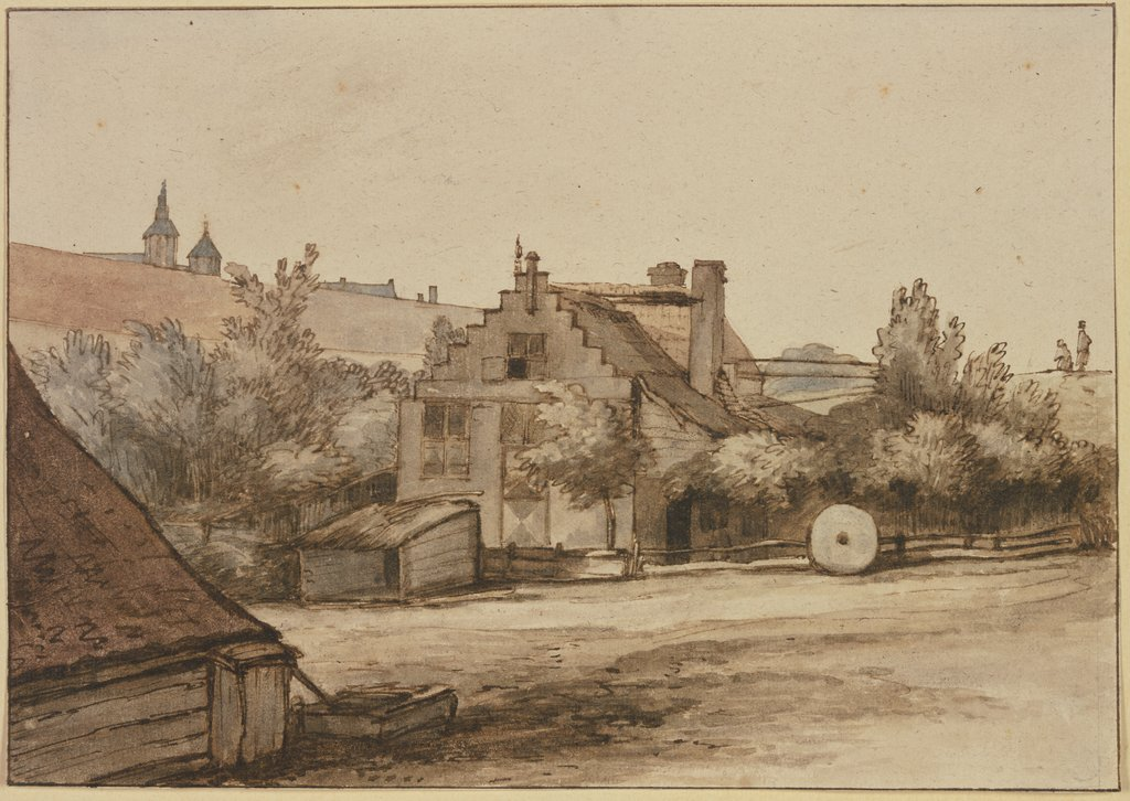 Bollwerk de Rose in Amsterdam, Abraham Furnerius