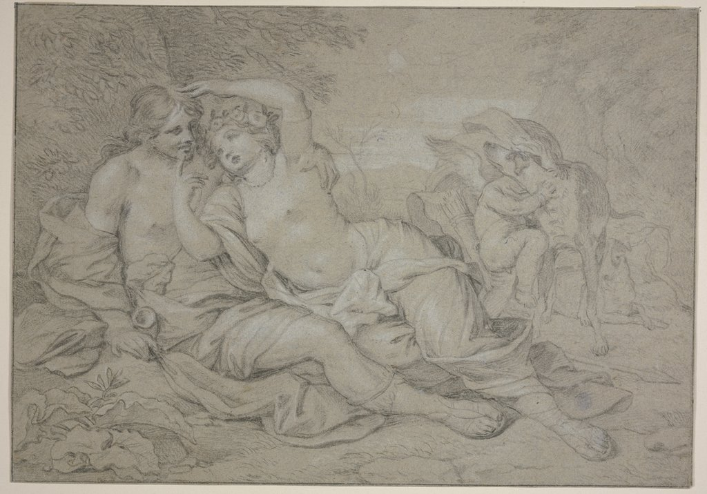 Venus and Adonis, Barend Graat