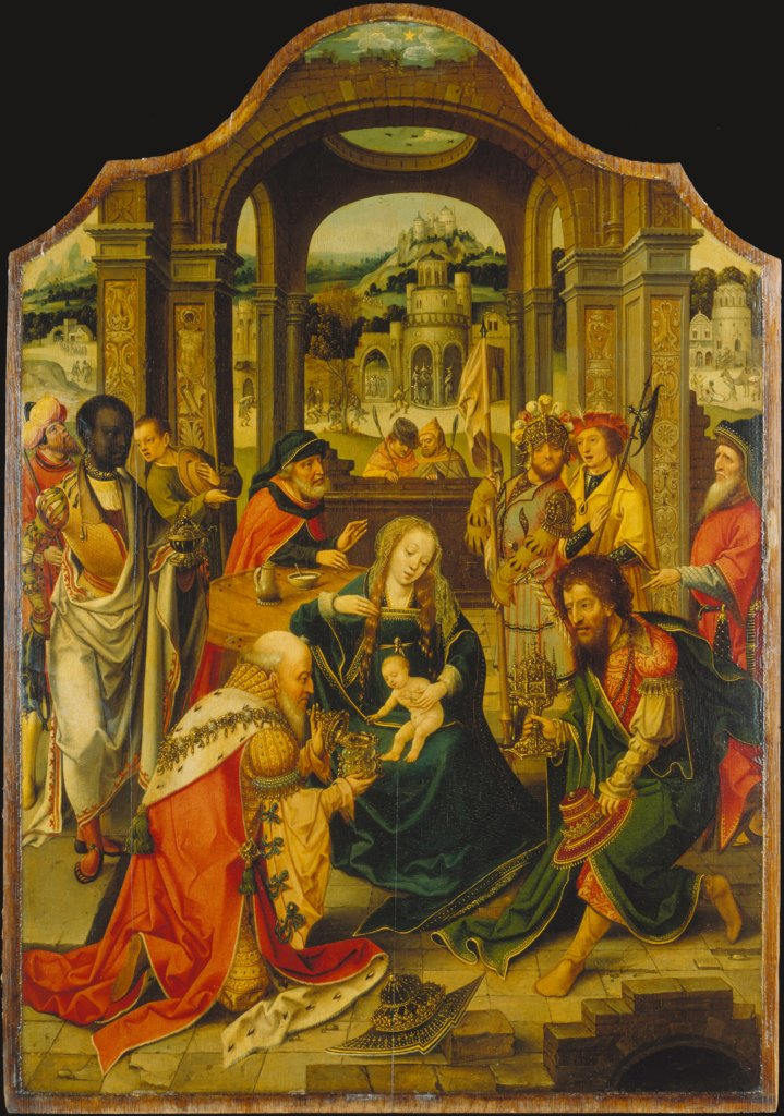 The Adoration of the Magi, Master of the von Groote Adoration