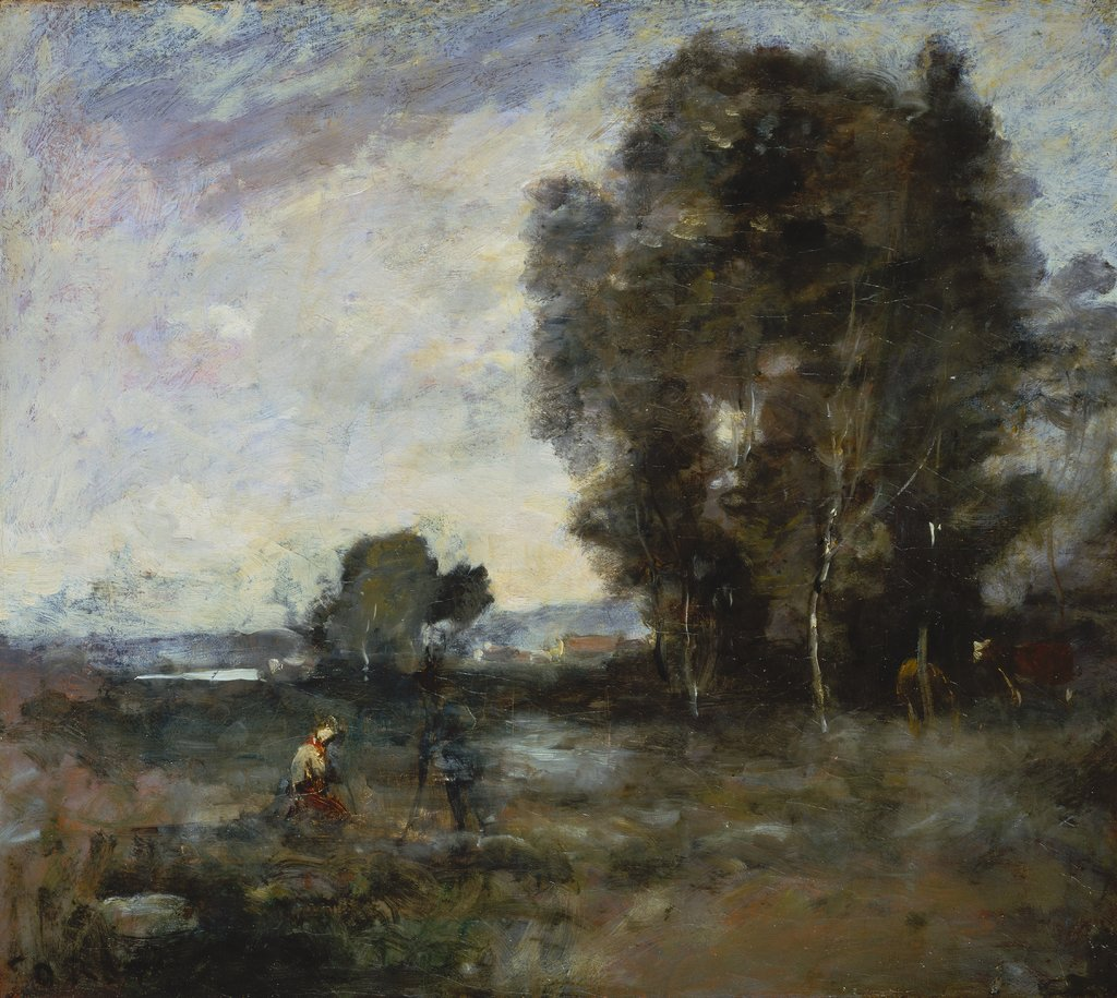 Summer Landscape, Camille Corot