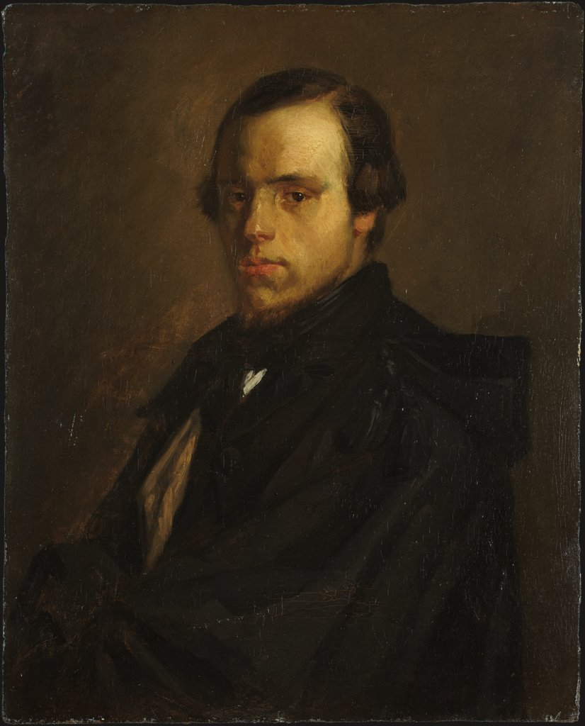 Portrait of Mister le Courtois, the Artist's Brother-in-Law, Jean François Millet