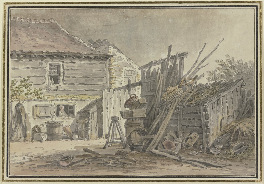 Farm, French, 18th century