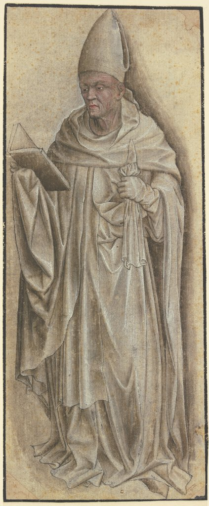 Standing bishop, Netherlandish, 15th century