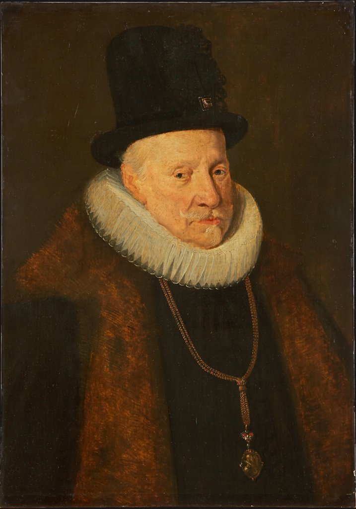 Portrait of an Eldery Man (Archduke Albert VII. (1559-1621) ?), Flemish Master around 1654