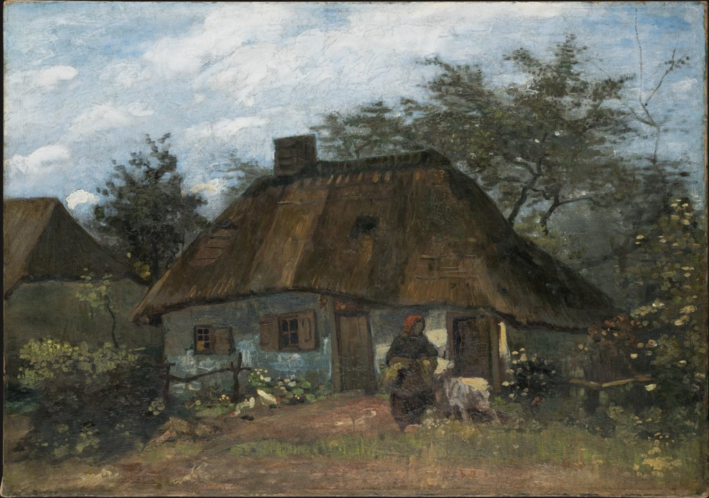 Farmhouse in Nuenen, Vincent van Gogh