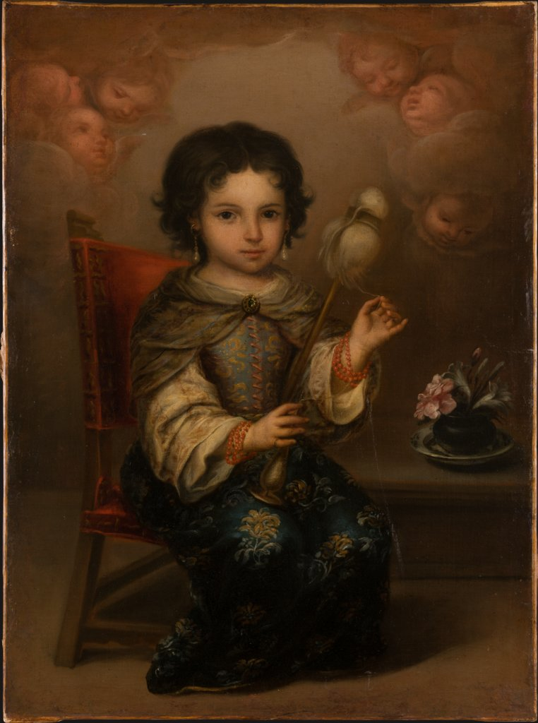 Madonna of the Yarnwinder, Juan de Ruelas