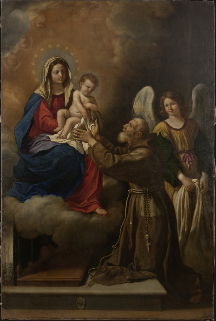 The Vision of Saint Anthony of Padua, Italian Master 17th century