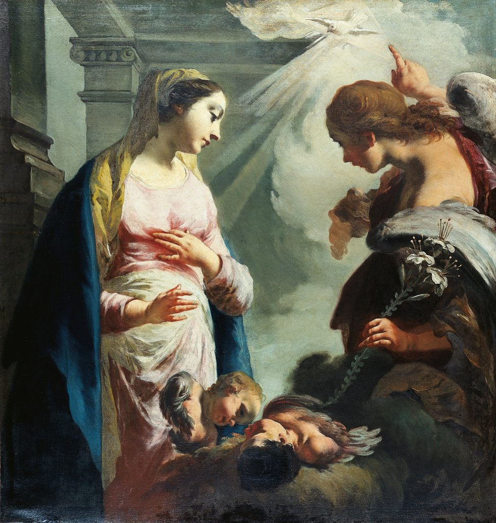 The Annunciation, Francesco Capella called Il Daggiù