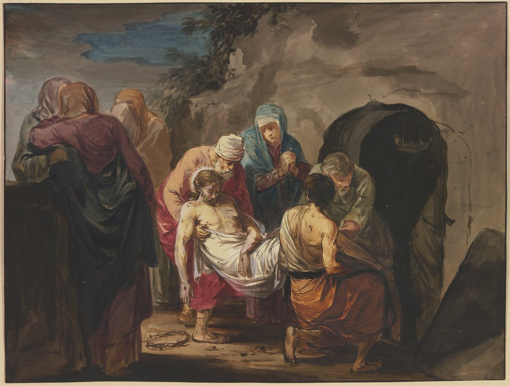 Entombment of Christ, Willem Joseph Laquy