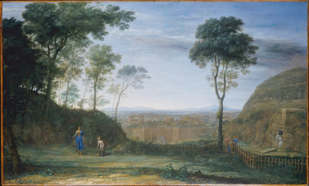 Christ Appears in front of Mary Magdalene (Noli me tangere), Claude Lorrain