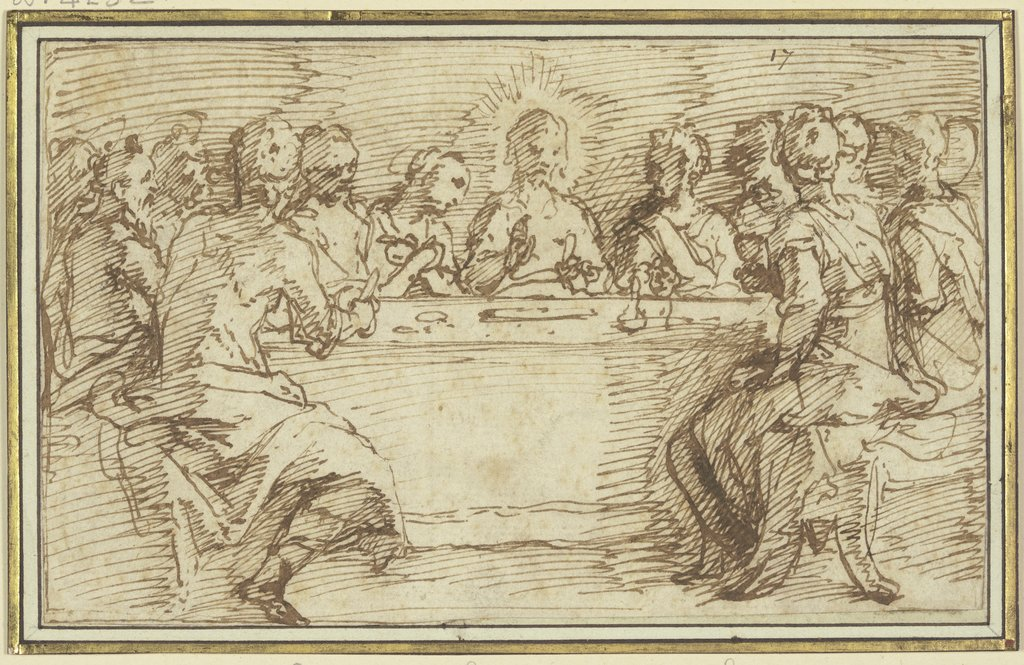The Last Supper, Jacopo Palma il Giovane   ?
