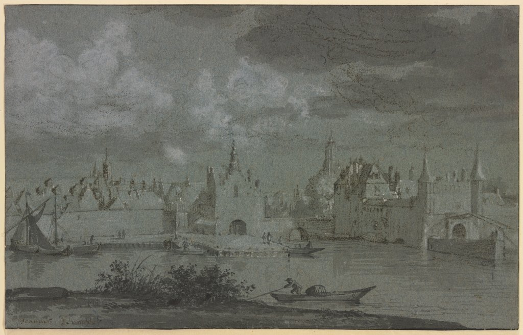 View of Delft, Netherlandish, 18th century