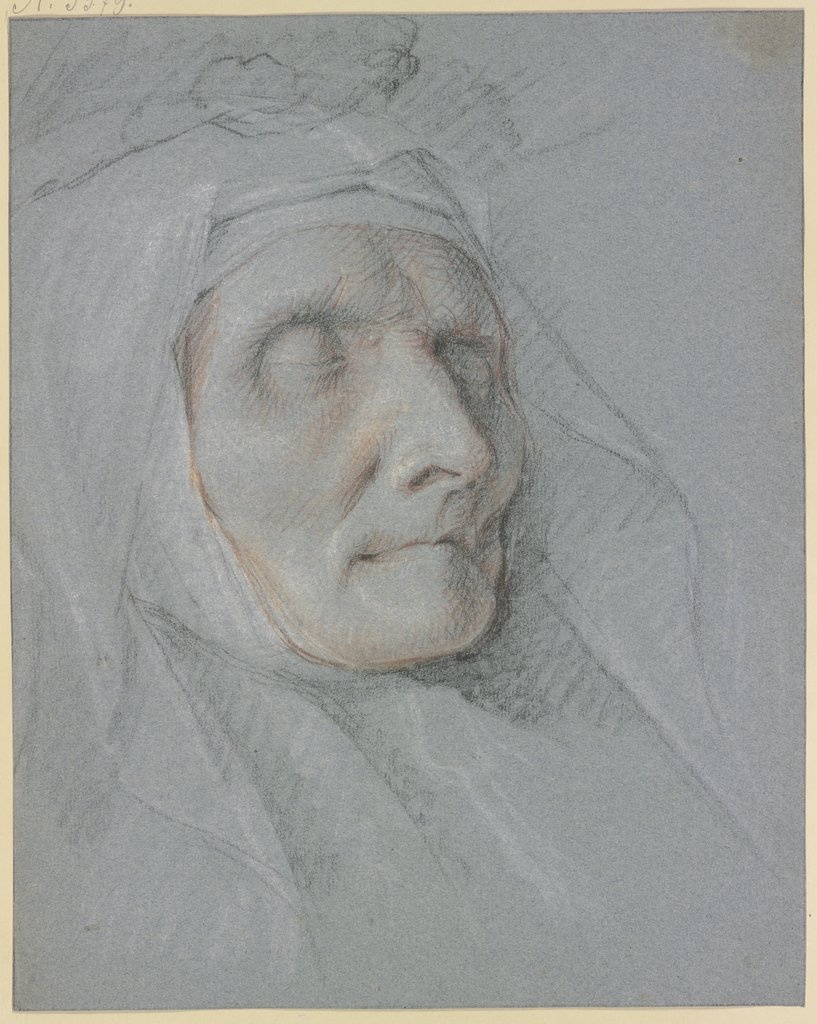 Head of a dead nun, Netherlandish, 18th century, Frans Snyders   ?