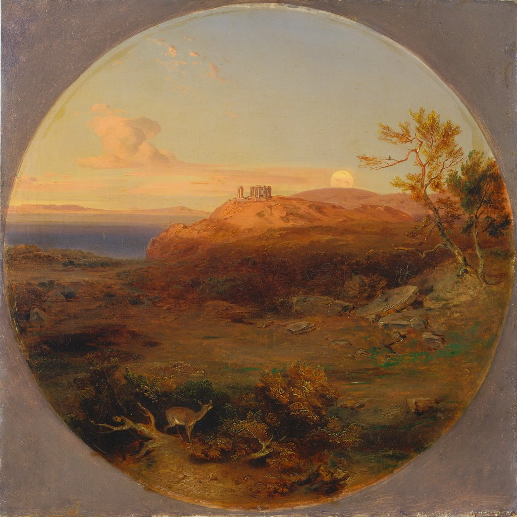 Greek Landscape on the Island of Aegina, Carl Rottmann