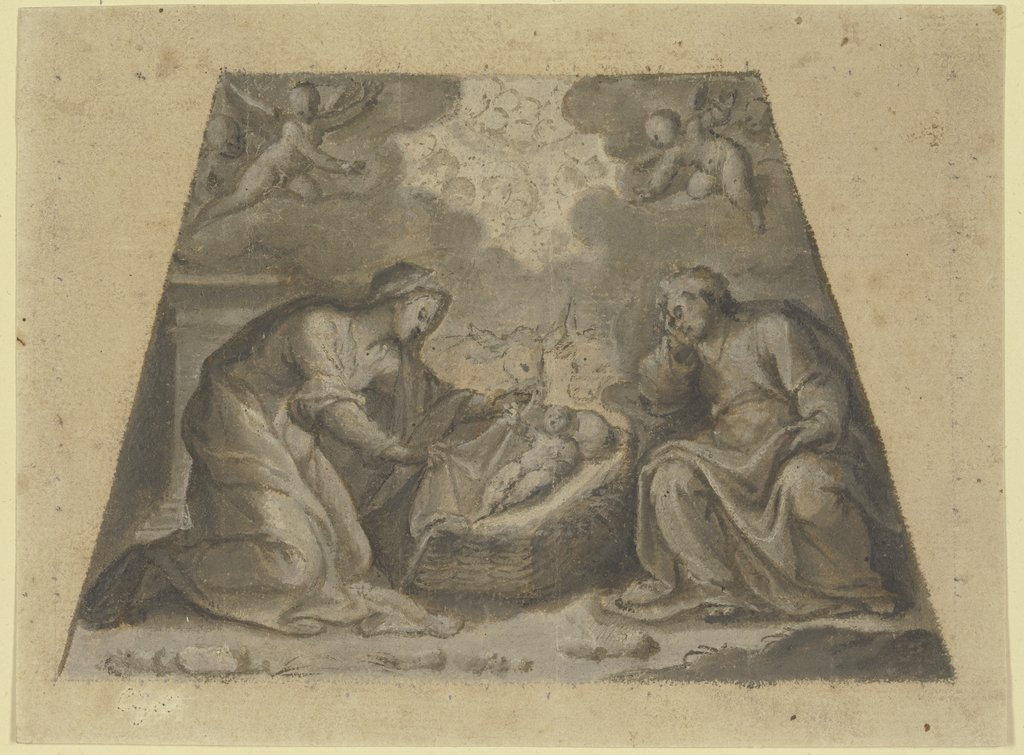 The Nativity, Ludovico Cardi da Cigoli   ?