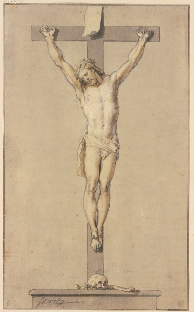 Christ on the cross, Jacob de Wit