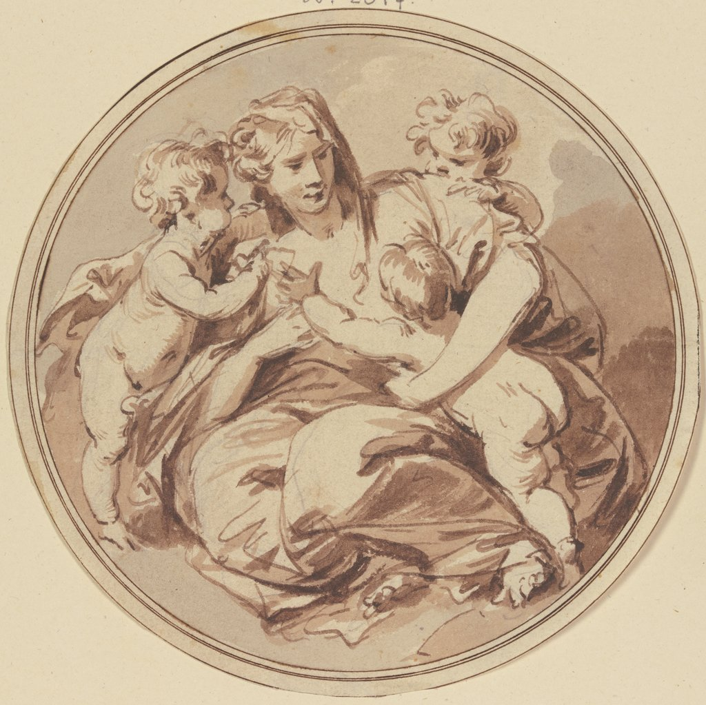 Charity, Jacob de Wit