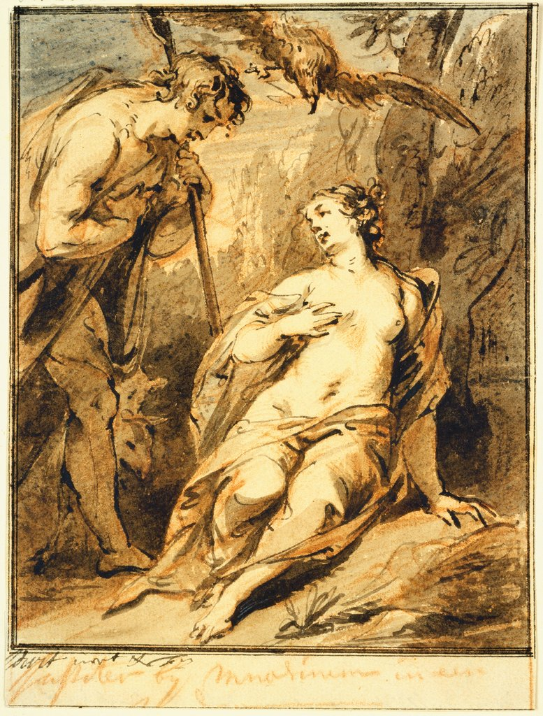 Jupiter und Mnemosyne, Jacob de Wit
