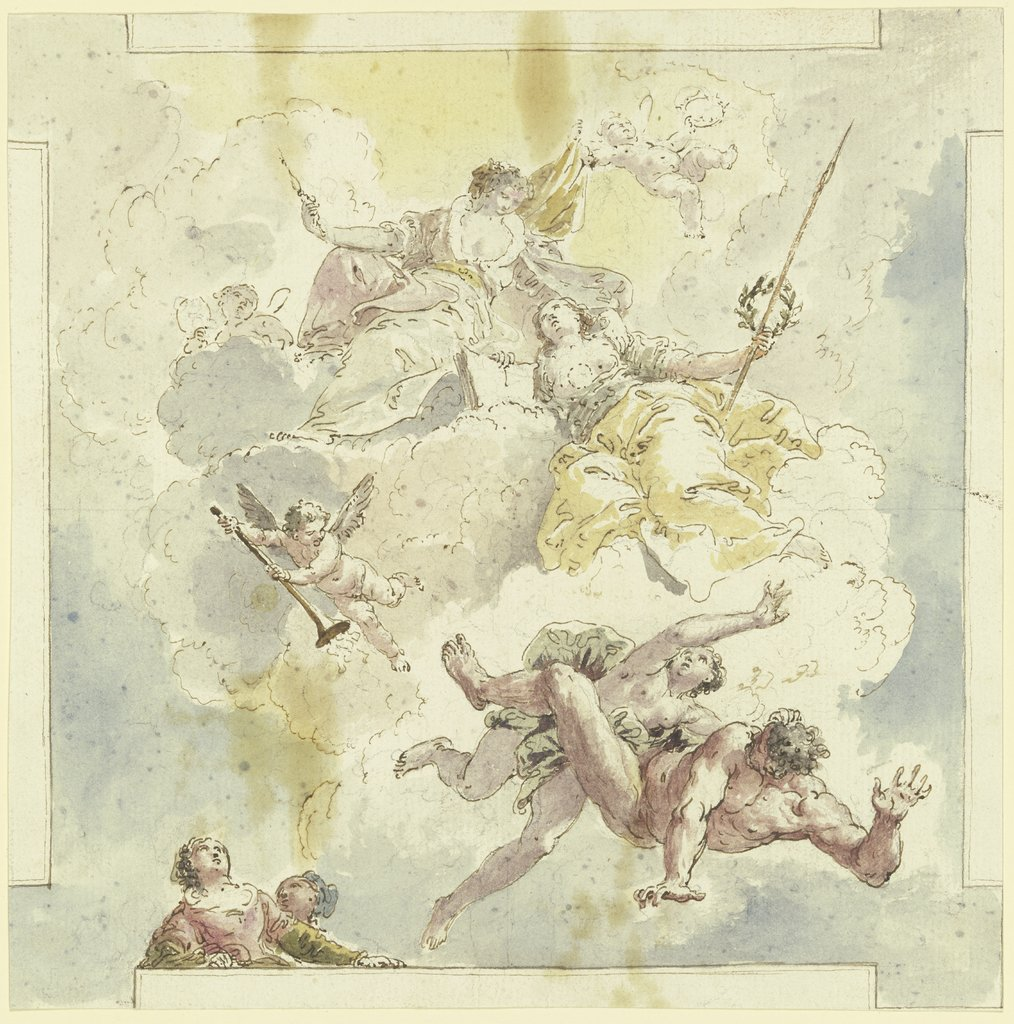 Allegory, Venetian, 18th century   ?, southern German, 18th century   ?