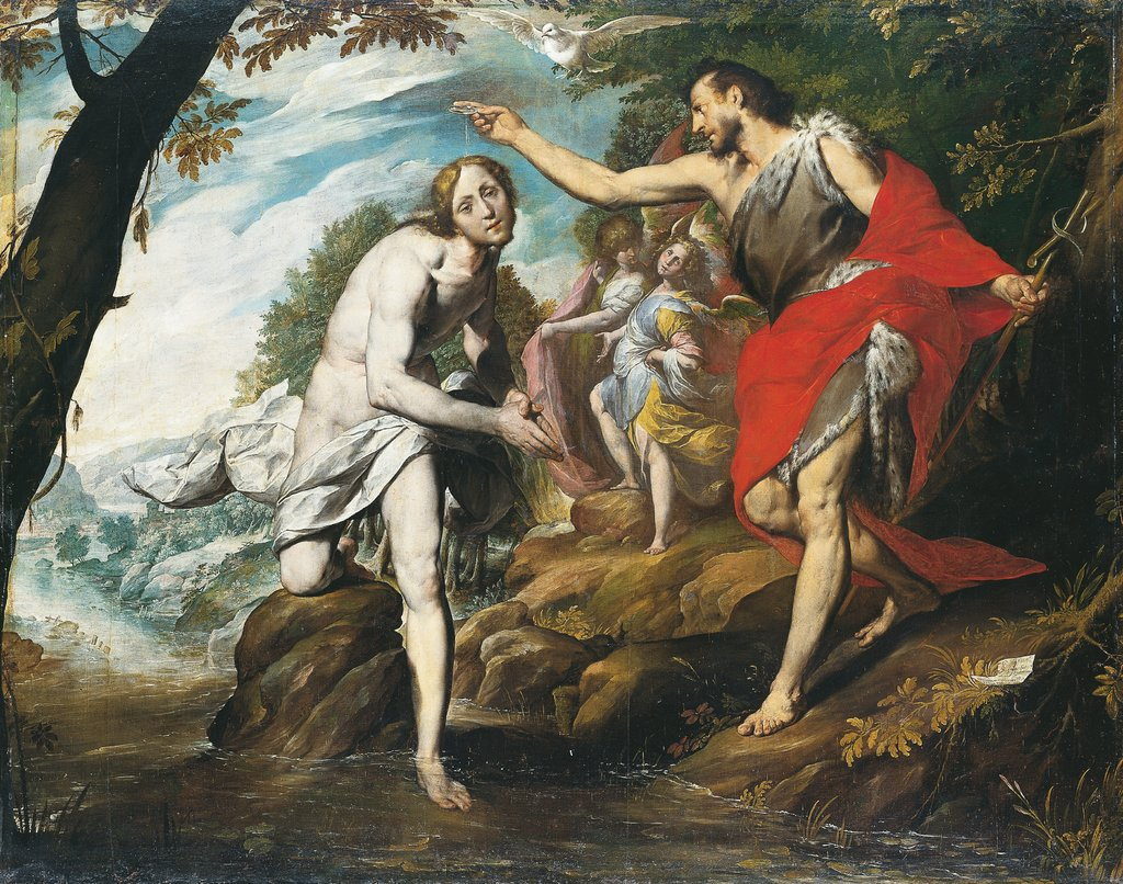 The Baptism of Christ, Giovanni Battista Crespi called Il Cerano