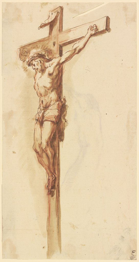 Christ on the cross, Venetian, 18th century