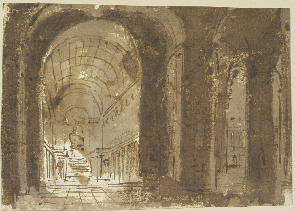 Church interior, Giovanni Battista Piranesi   ?
