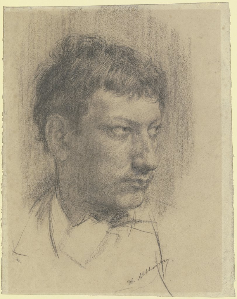 Self-portrait, Wilhelm Altheim