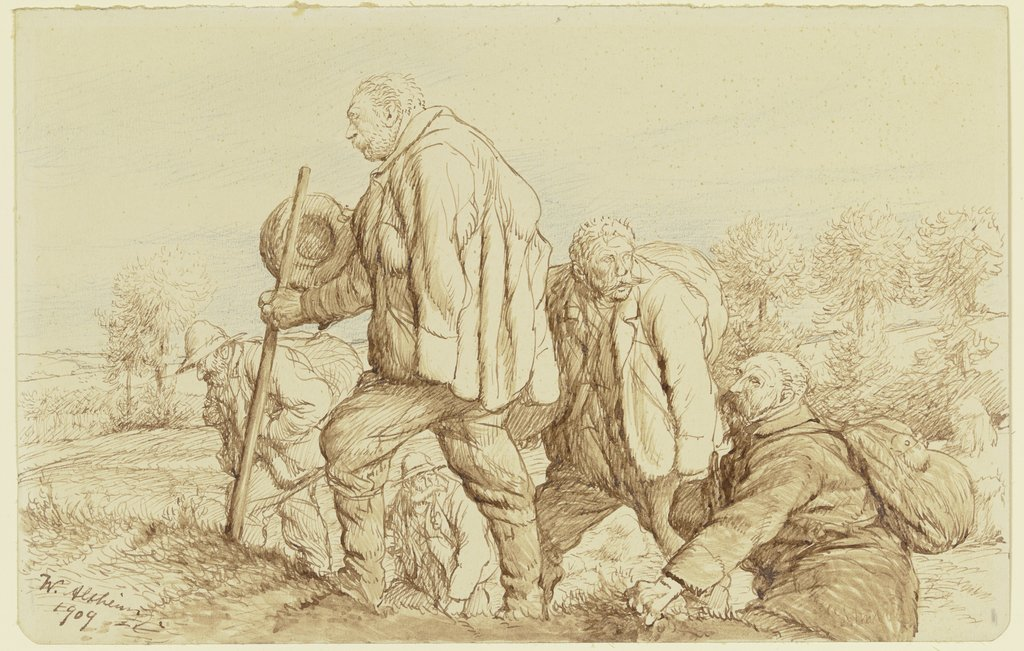 Five wanderers, Wilhelm Altheim