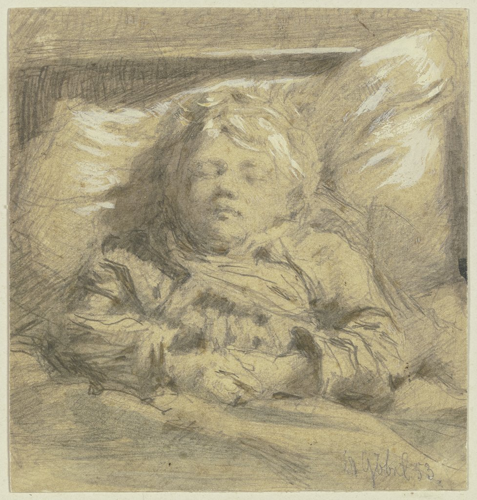 Sleeping child, Angilbert Göbel