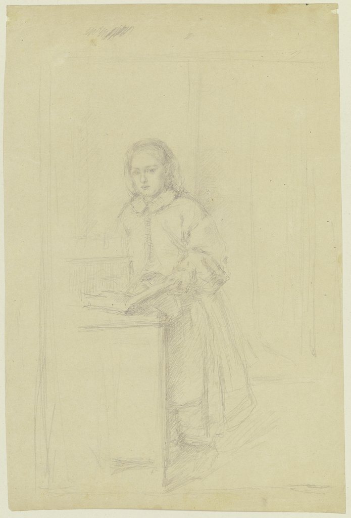 Reading girl, Angilbert Göbel