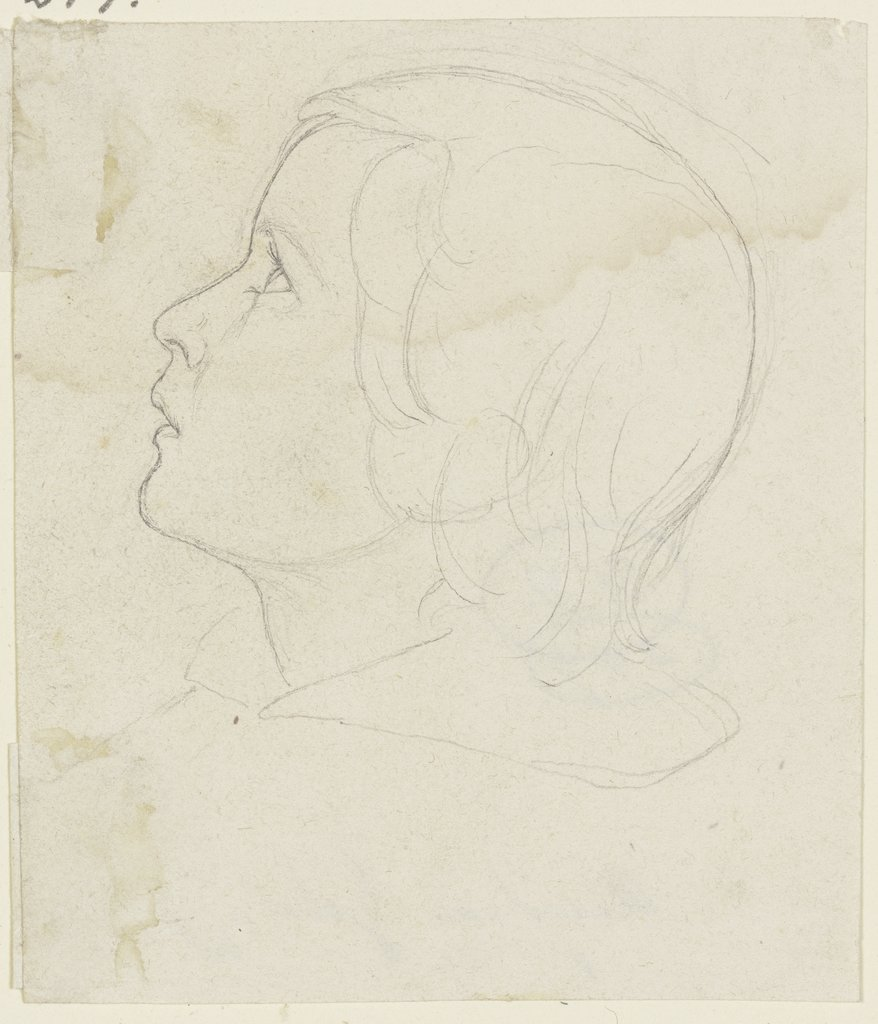 Child's head, Angilbert Göbel