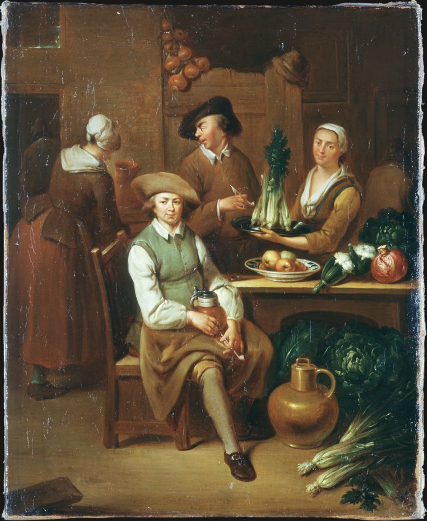 Kitchen Interior, Johann Gerlach Lambert   ?