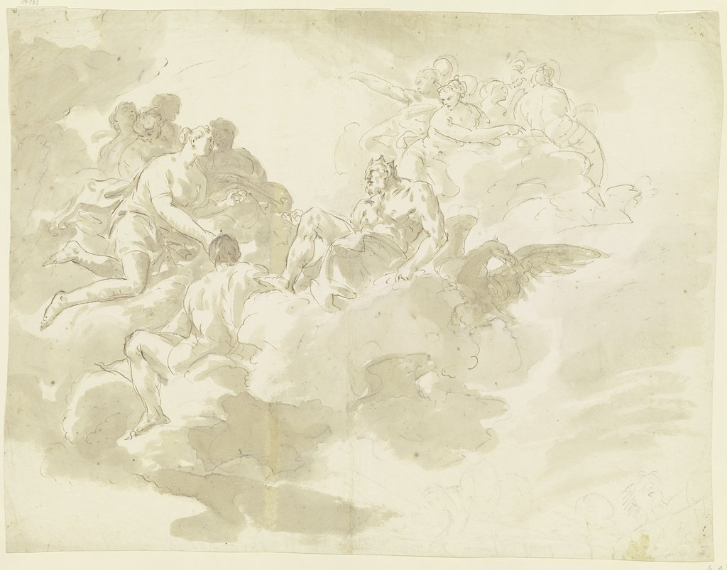 Psyche in front of Jupiter, Giovanni Battista Tiepolo   ?